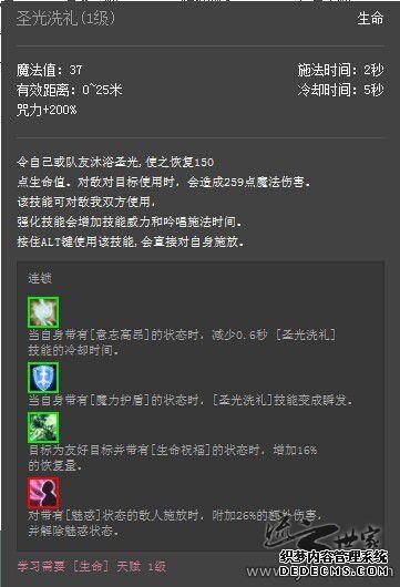 【流云世家公会】天赋技能详解系列-生命篇